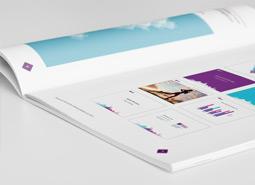 为北京健康瑜伽中心提供画册设计